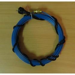 Греющий кабель heatway eco 13 Вт/м для установки внутри водопровода (секция 3м)