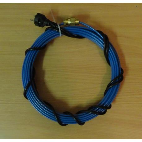 Греющий кабель HEATWAY ECO 13 Вт/м для установки внутри водопровода (секция 9м)
