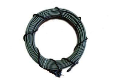 Секции на основе греющего кабеля снаружи трубы