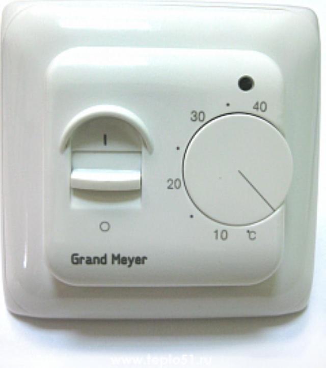 Терморегулятор механический для теплого пола