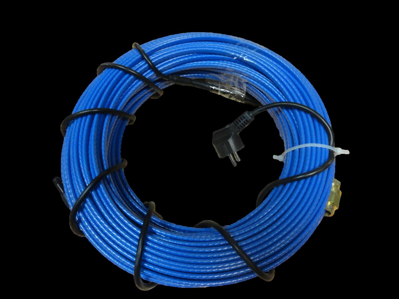 схема монтажа греющего кабеля 30 вт