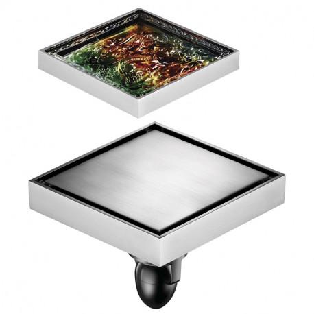 Трап хром фьюзинг стекло (WC 02Q5-NW)
