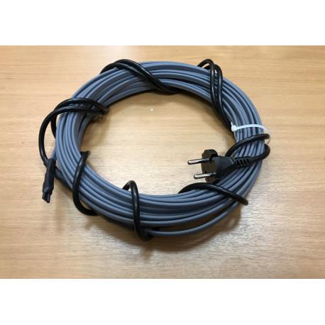 Греющий кабель для канализационных труб, септиков, дренажей, 40-50 мм диаметром, готовый комплект 44 м