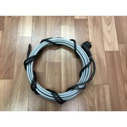 Греющий кабель для кровли и водостоков, 9 м готовый комплект