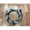 Греющий кабель для кровли и водостоков, 22 м готовый комплект