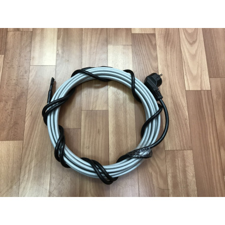 Греющий кабель для кровли и водостоков, 28 м готовый комплект