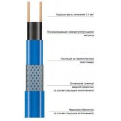 Саморегулирующаяся электрическая нагревательная лента 15HTP2-BT
