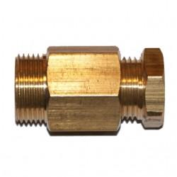 Сальник для ввода греющего кабеля в трубу на 1/2 дюйма