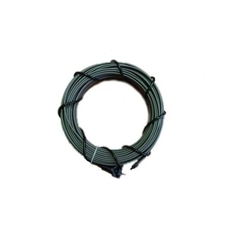 Греющий кабель для водопровода 16 Вт/м (секция 5 м)
