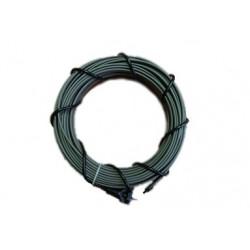 Греющий кабель для водопровода 16 Вт/м (секция 15 м)
