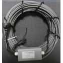 Комплект греющего кабеля с терморегулятором tr - 101 (55 м)