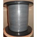 Саморегулирующийся греющий кабель heatway 16ash2-CR экран