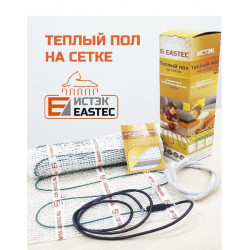 Комплект теплого пола на сетке EASTEC ECM - 1,0 м²