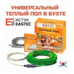 Комплект теплого пола в бухте EASTEC ECC-1400 (70m/1400W/9.0-10.5м²)