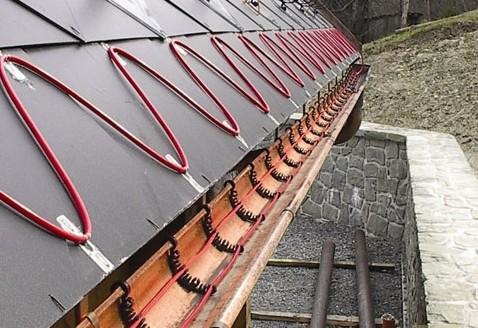 Самостоятельный монтаж греющего кабеля на кровле и водостоке